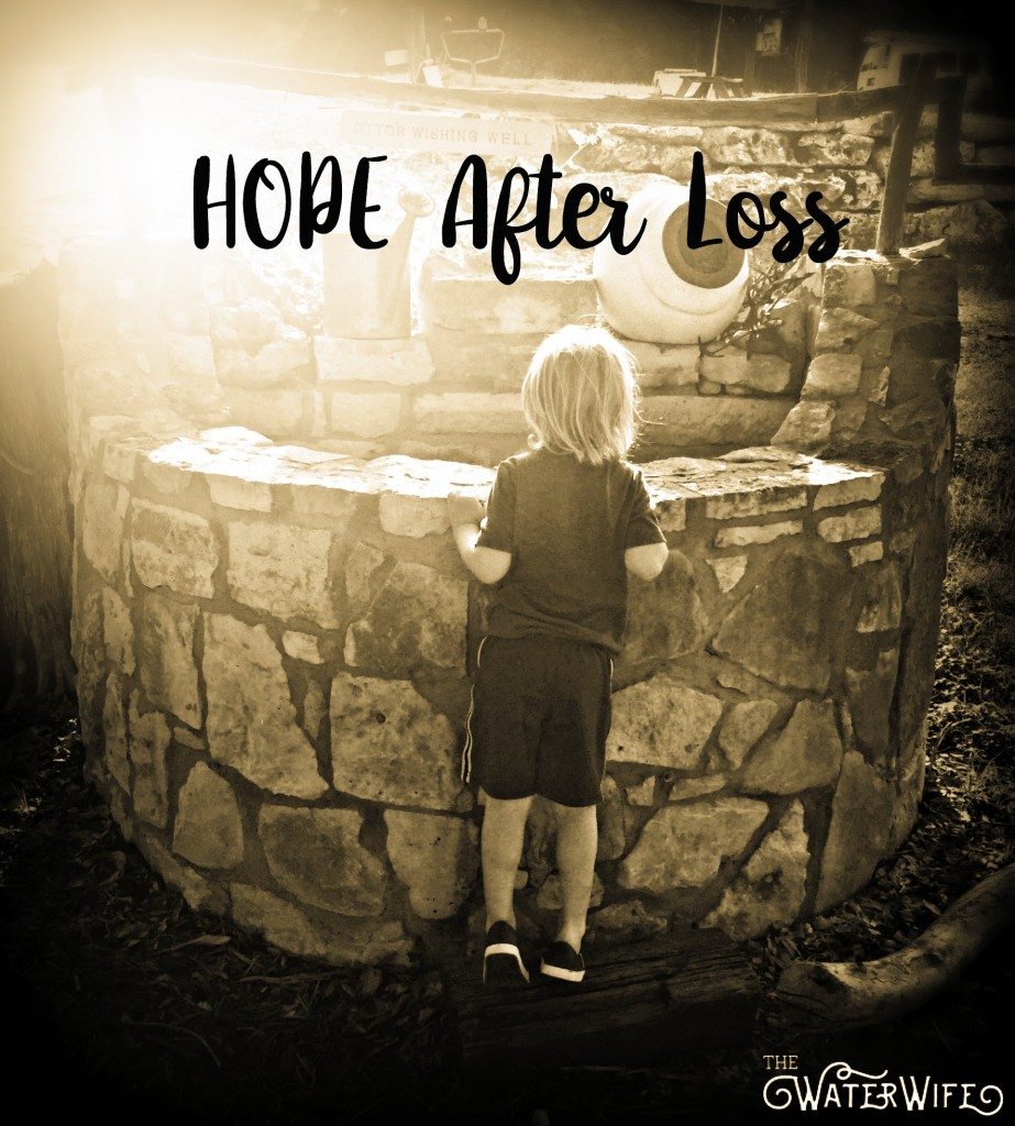 Finding hope after pregnancy loss of a child, a mother's beautiful story.