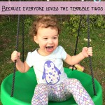 Hilarious way to say goodbye to your baby season and hello to the terrible two's!