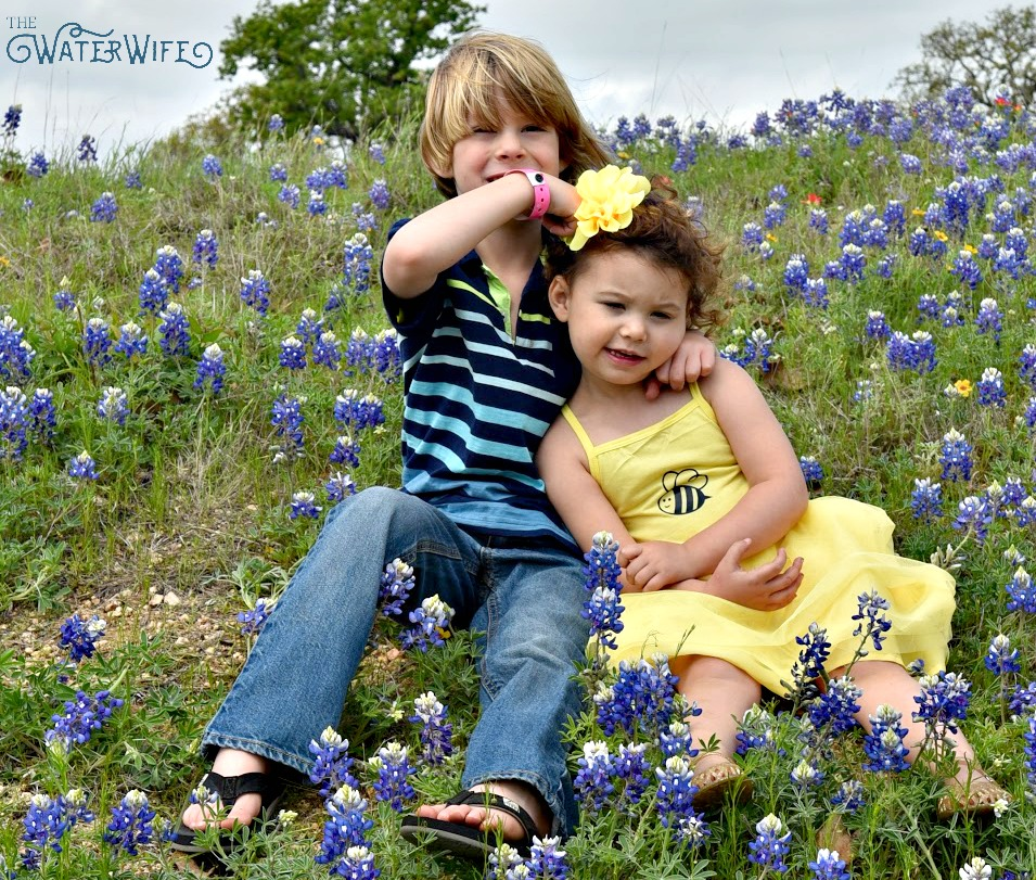 This is real life y'all! Read one mother's funny tales of marriage and motherhood and spring time in Texas!