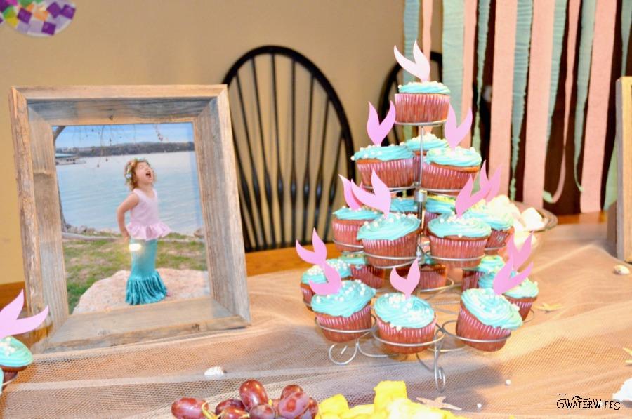 Cute little mermaid birthday party ideas!