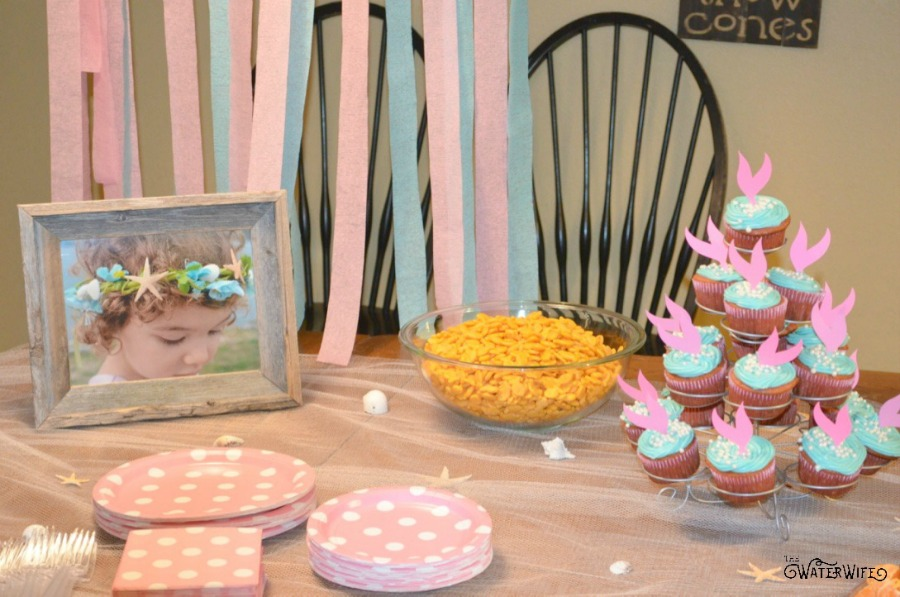 Adorable little mermaid birthday party ideas!