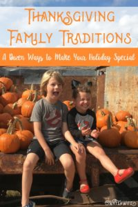 Create special family memories with these 12 Thanksgiving tradition ideas and have your best holiday yet!