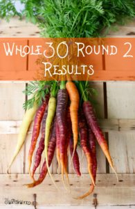 Transform your life with Whole30, I have! Here's my round 2 Whole30 results!