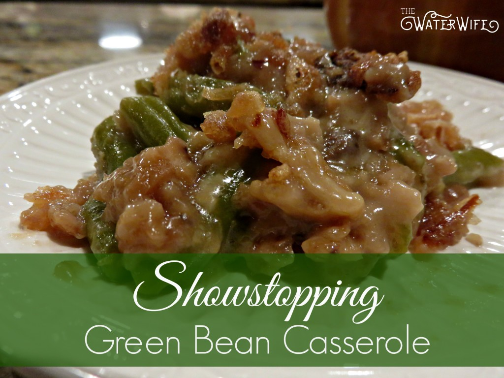The best green bean casserole makes the yummiest side dish ever! You need this recipe!