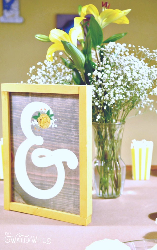 Beautiful yellow decoration ideas for your nursery, room or party.