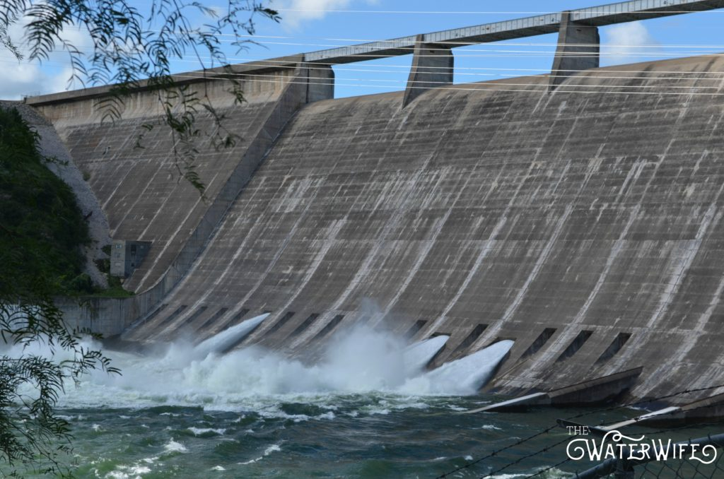 The Texas hill country is flooding and 2016 marks the first year in nearly a decade the Mansfield Dam at Marshall Ford has opened the floodgates. Lake Travis is flooded for the first time since 2007.