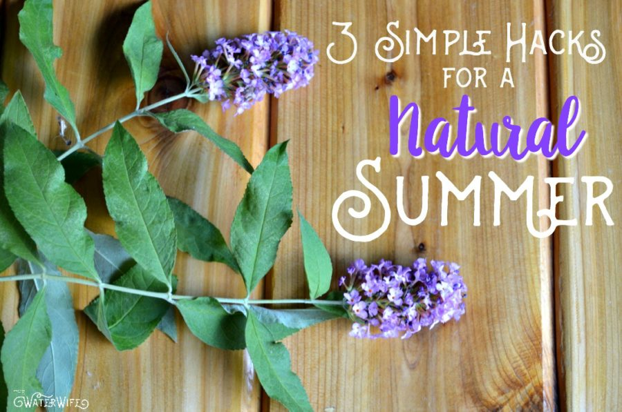 Don't be overwhelmed with natural living, make these 3 simple changes today for your family so you can live a more natural lifestyle.